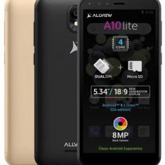 Telefon mobil Allview A10 Lite 2019, Procesor Quad-Core 1.3 GHz, LCD Capacitive touchscreen 5.34inch, 1GB RAM, 8GB FLASH, 8MP, Wi-Fi, 3G, Dual Sim, An