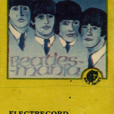 Caseta The Beatles ‎– 1 Beatles~Mania, originala, ELECTRECORD