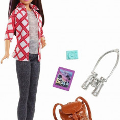 Papusa Barbie set calatorie Skipper