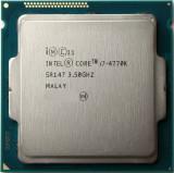Cumpara ieftin Procesor Intel i7 4770K- 3.5GHz (up to 3.9GHz), Haswell Refresh, Socket 1150, Intel Core i7, 8