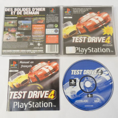 Joc consola Sony Playstation 1 PS1 PS One - Test Drive 4, Single player, Curse auto-moto, Toate varstele