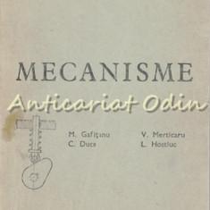 Mecanisme - M. Gafitanu, C. Duca, V. Merticaru, L. Hostiuc
