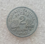 Franta - 2 Franc 1943
