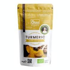 Turmeric Pudra Bio 125gr Obio Cod: 6426333001271