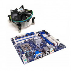 Placa de baza SH Foxconn G41M, Intel Quad Core Q6600, Cooler