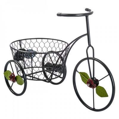 Suport flori bicicleta Roses foto