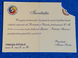 Invitatie meci fotbal ROMANIA - OLANDA (26.03.2005)