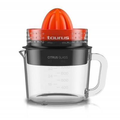 Storcator de citrice Taurus Citrus Glass 30W 1 litru Rosu / Negru foto