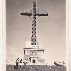 bnk foto - Crucea de pe Caraiman - 1957