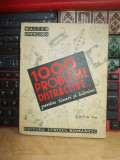 WALTER SPERLING - 1000 PROBLEME DISTRACTIVE PENTRU TINERI SI BATRANI , 1943