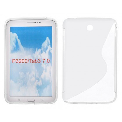 Husa Silicon S-Line Sam Galaxy Tab 3 (7.0inch ) P3200 Transparent