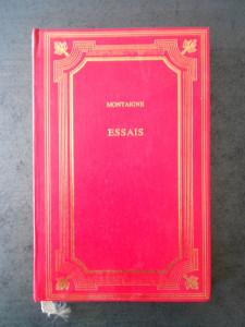 MONTAIGNE - ESSAIS  (1995, editie cartonata)