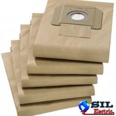 Sac aspirator Karcher 6.904-210, hartie, 5 X saci, K&M