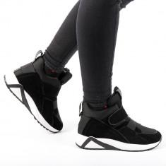 Pantofi sport dama Coliers negri