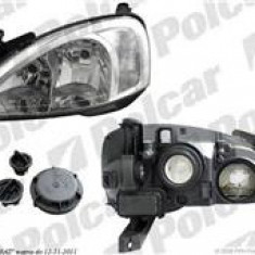 Far Opel Corsa C 07.2000-10.2003 AL Automotive lighting fata stanga, tip bec H7+H7 , reglare electrica