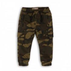 Pantaloni lungi cu snur si buzunare Minoti Scout, Camuflaj