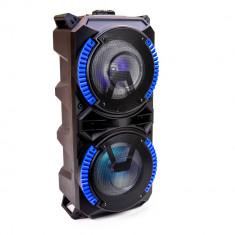 Aproape nou: Boxa portabila PNI FunBox BT101 cu Bluetooth 100W MP3 player FM karaok