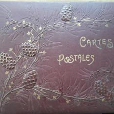 Album vechi pentru cărți poștale colecție