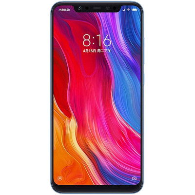 Smartphone Xiaomi Mi 8 64GB 6GB RAM Dual Sim 4G Blue foto