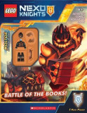 Battle of the Books (Lego Nexo Knights: Activity Book with Minifigure)