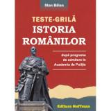 Istoria romanilor dupa programa de admitere in Academia de Politie | Stan Balan