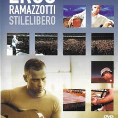 DVD Eros Ramazzotti – Stilelibero , original, holograma