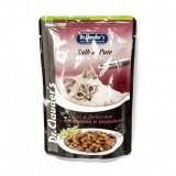 Cumpara ieftin Hrana umeda pentru pisici cu vita si curcan, Dr. Clauder s Premium Cat Food, 100 g
