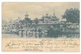 344 - CRAIOVA, Romania, Park Bibescu - old postcard - used - 1907