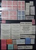 Tichet alimente 1916 Germania - Lot 50 piese / Fürth, Forchheim, Wurttemberg, Stampilat