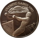 Samoa 10 Tala 1992 (Aruncare bila) Argint 31.47g /925, Aoc1 KM-86 UNC !!!
