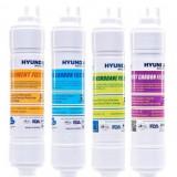 Set filtre dozator apa by Hyundai Waco. schimb la 1 an (Sediment+Precarbon+U.F+Postcarbon)