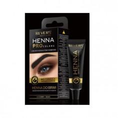 Vopsea de Sprancene Henna Pro Colors Revers Neagra