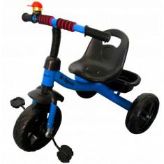 Tricicleta cu pedale R-Sport T1 - Albastru