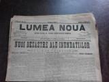 Ziarul Lumea Noua, ziar socialist,organ al P.S.D.-M.R.,Anul III, 875 vineri 13 iunie 1897
