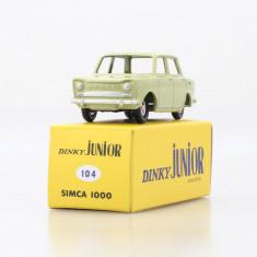 Macheta Simca 1000 - Dinky Toys