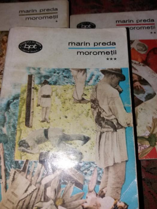 MARIN PREDA - MOROMETII 3 VOL T 12/ 13