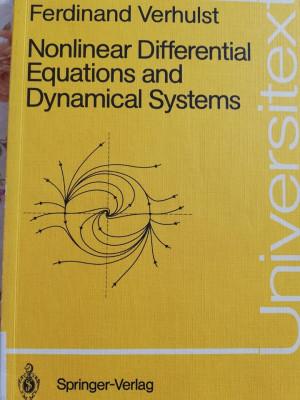 Sisteme Dinamice Ecuatii diferentiale analiza matematica foto