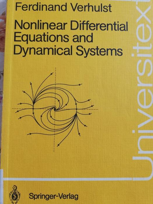 Sisteme Dinamice Ecuatii diferentiale analiza matematica