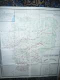 Harta mare - Judet NASAUD,dim.=122x110cm RSR 1982 Inst.Geodezie si Organizarea