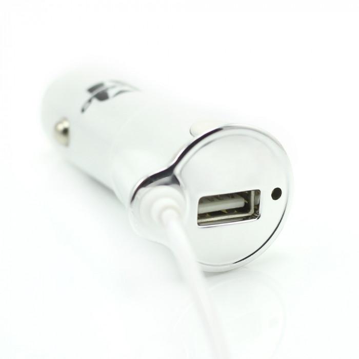 Incarcator telefon universal Micro USB + iPhone5/6 + USB 1A Best CarHome
