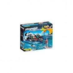 Playmobil Top Agents - Echipa S.H.A.R.K cu barca