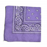 Bandana floral - violet