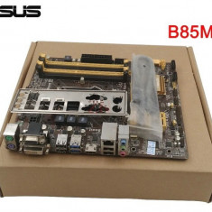 Kit i3+ Asus- B85+cooler nou-Socket 1150, Pentru INTEL, LGA 1150, DDR3