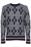 Bluza Tommy Hilfiger mod. MW0MW11667, L, M, XL, La baza gatului, Bumbac