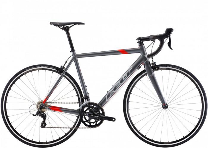 Bicicleta Cursiera Felt F95, Gri/rosu, 58cm - F9515SDT58