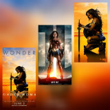Poster Wonder Woman Femeia Fantastica DC Afis A3