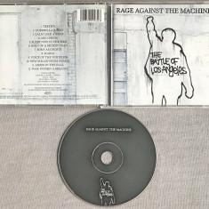 Rage Against the Machine - Battle of Los Angeles CD (1999), Epic rec