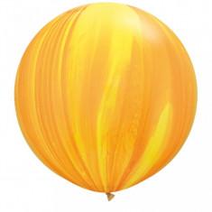 Balon Jumbo Super Agate Yellow Orange 75 cm