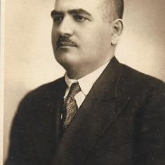 Fotografie portret barbat interbelica poza veche