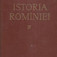 AS - ISTORIA ROMANIEI VOL. IV
